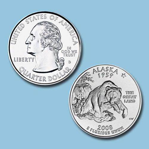 Alaska-State-Quarter-Dollar