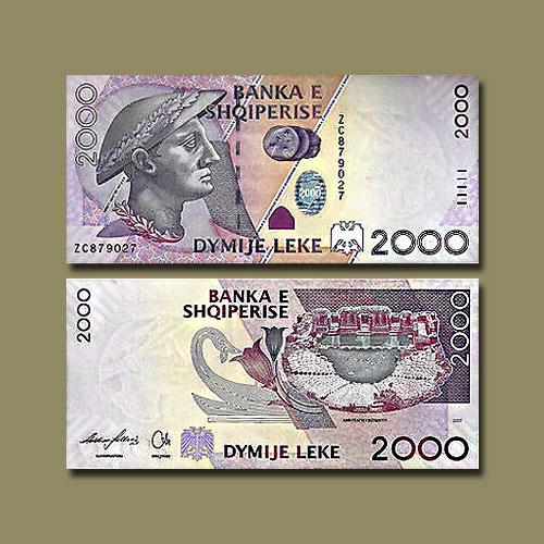 Albania-2000-Leke-banknote-of-2007