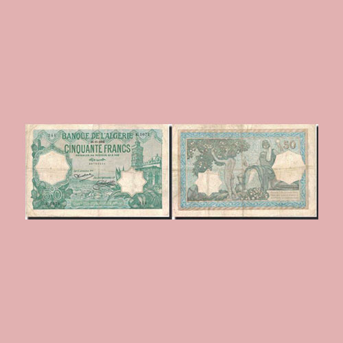 Algeria-50-Francs-banknote-of-1920-1938