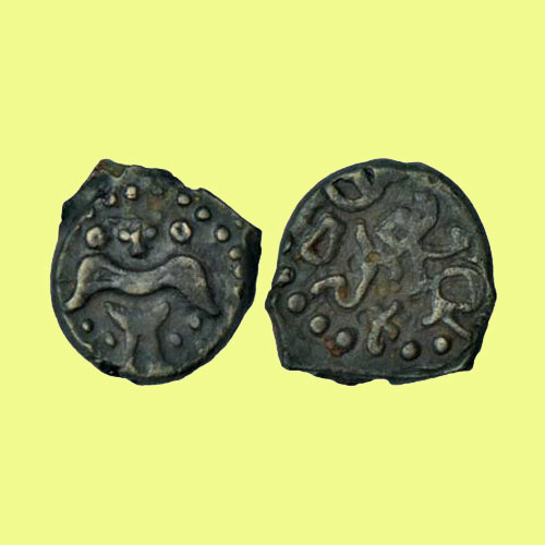 Alloy-Copper-Coin-of-Rashtrakuta-king-Dantidurga