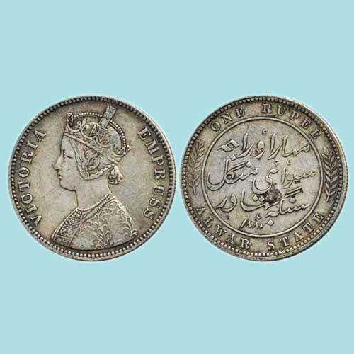 Alwar-Silver-Rupee