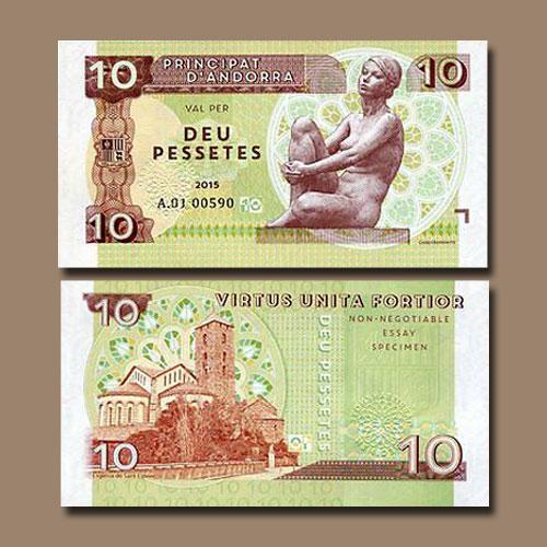 Andorra-10-Pessetes-banknote-of-2015