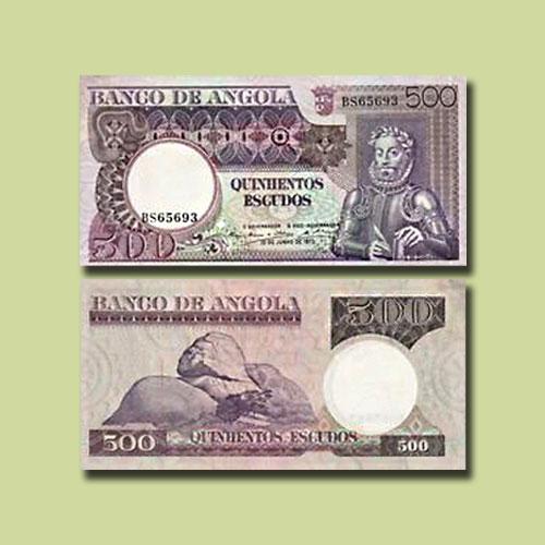 Angola-500-Escudos-banknote-of-1973