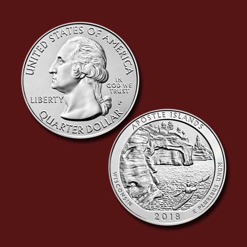 Apostle-Islands-National-Lakeshore-Quarter-Dollar
