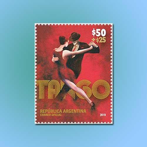 Argentine-Tango-Semipostal-Stamp