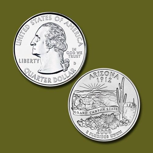 Arizona-State-Quarter-Dollar