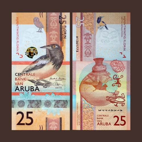 Aruba-25-Florin-of-2019