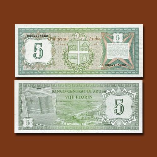 Aruba-5-Florin-banknote-of-1986