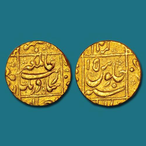 Aurangzeb-Gold-Mohur