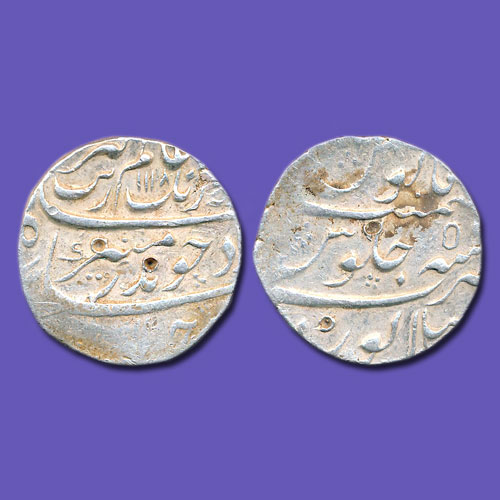 Aurangzeb-Silver-Rupee-Estimated-for-15,000
