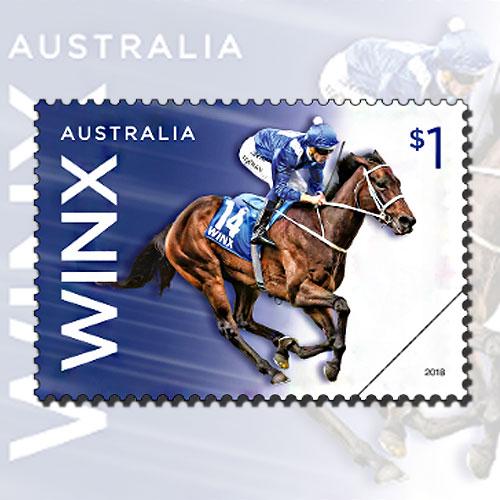Australian-Mare-Winx-on-stamps