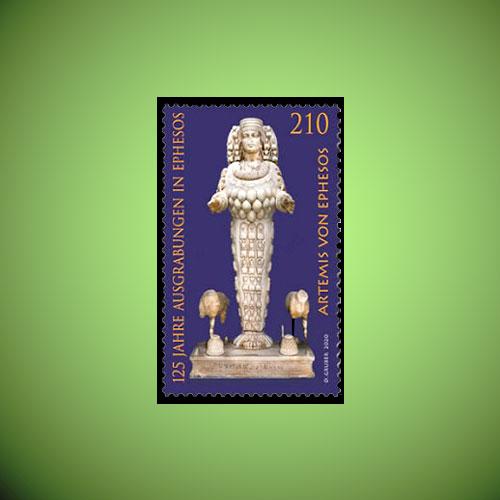 Austria-Released-Stamp-on-125-Years-of-Excavations-in-Ephesus