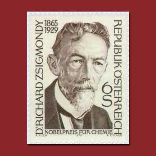 Austria-Stamp-honouring-Richard-Adolf-Zsigmondy
