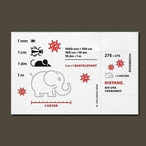 Austrian-COVID-19-Semi-postal-Stamp