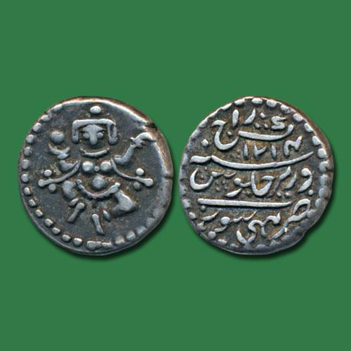 Bala-Krishna-on-silver-coin