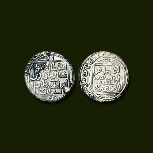 Balban's-Silver-Tanka-of-Khitta-Nagore-mint