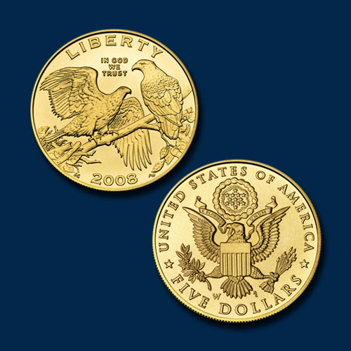 Bald-Eagle-Commemorative-Gold-Five-Dollar-Coin