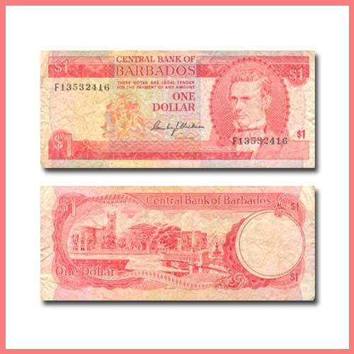 Barbados-1-Dollar-banknote