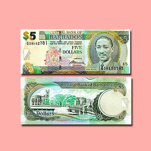 Barbados-5-Dollars-banknote-of-2007