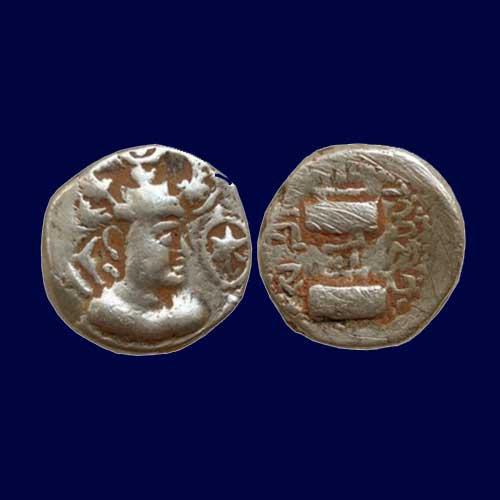 Base-gold-Dinar-of-Indo-Sassanian-King-Ranaditya-Satya