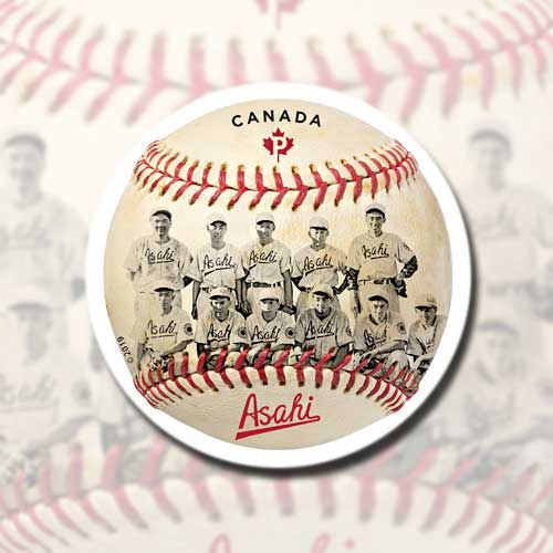 Baseball-shape-stamp-issued-by-Canada-Post