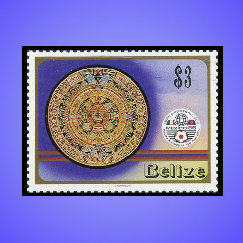Belize-Stamp-Honours-Mexican-History