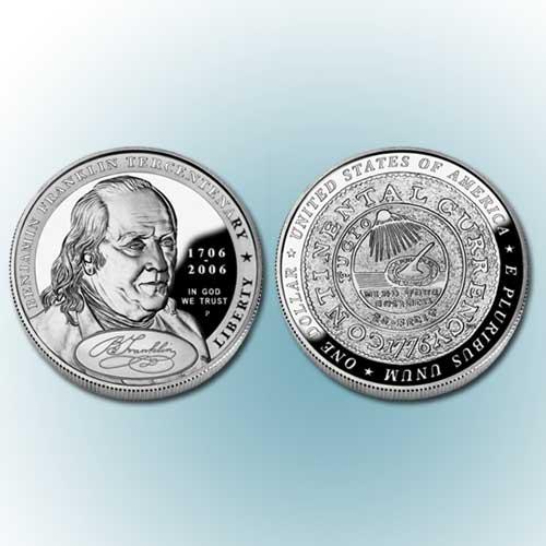 Benjamin-Franklin-Commemorative-Silver-Dollar