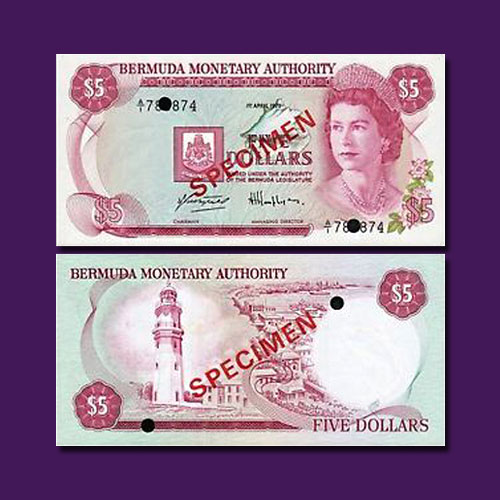 Bermuda-5-Dollar-Banknote-of-1978