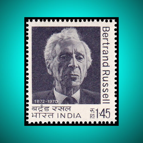 Bertrand-Russell-1972-stamp-of-India