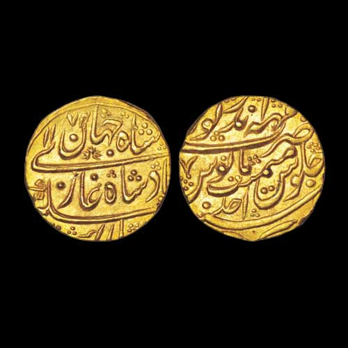 Bharatpur-Gold-Mohur-Sold-For-INR-1,00,000
