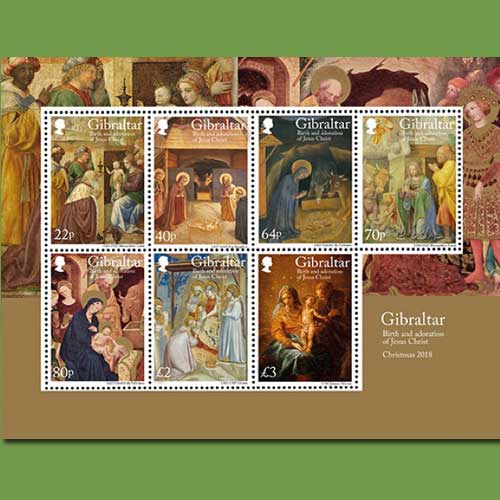 Birth-of-Christ-celebrated-on-stamps-by-Royal-Gibraltar-Post