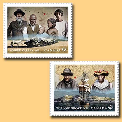 Black-history-month-celebrate-on-stamp