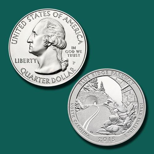 Blue-Ridge-Parkway-Quarter-Dollar