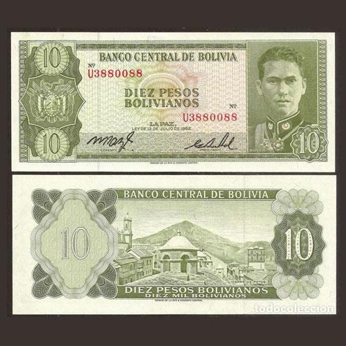 Bolivia-10-Pesos-Bolivianos-banknote-of-1962