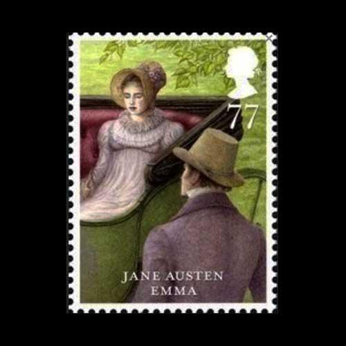 British-Author-Jane-Austen-Postage-Stamp