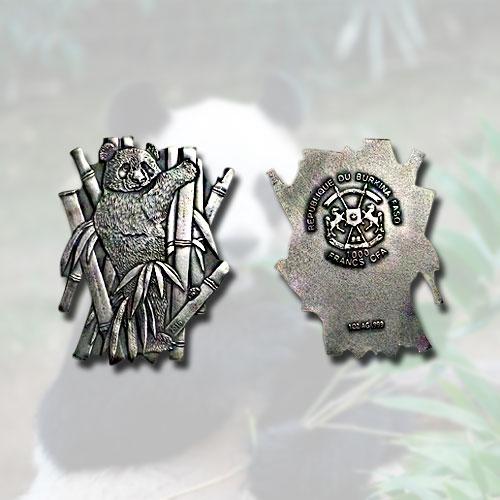 Burkina-Faso's-Giant-Panda-Cut-Out-Coin-