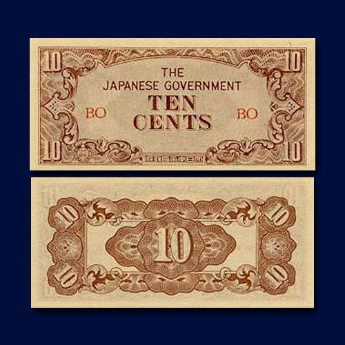 Burmese-10-cents-of-1942