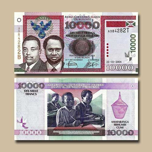 Burundi-10000-Francs-banknote-of-2004