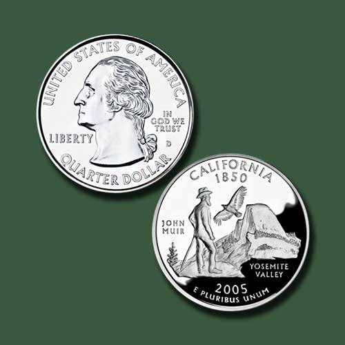 California-State-Quarter-Dollar