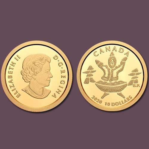 Canada-Celebrates-Native-Culture-on-a-Coin