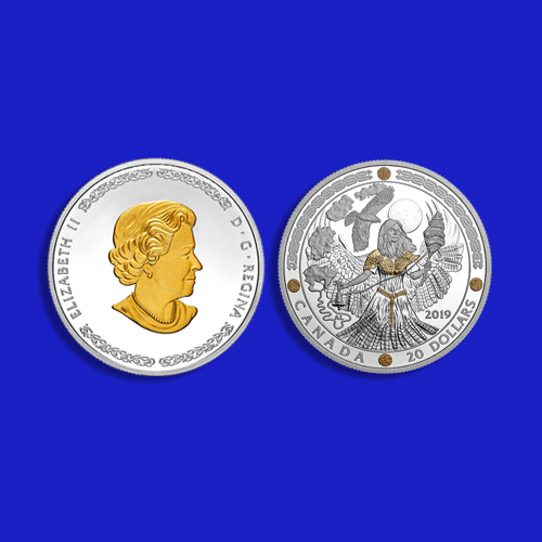 Canada-Mint-Features-Norse-Gods-Frigg