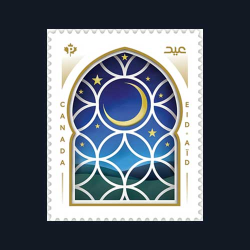 Canada-Post-Issued-Eid-Stamp-2021