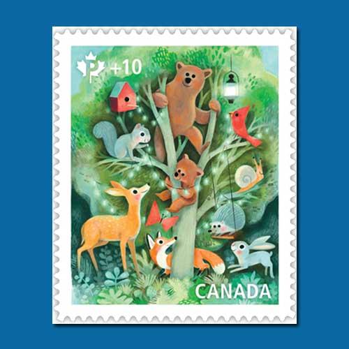 Canada-Post's-New-Semi-postal-Stamp