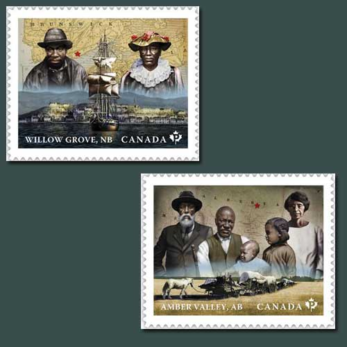 Canada's-13th-Series-of-Black-History-Month-Stamps