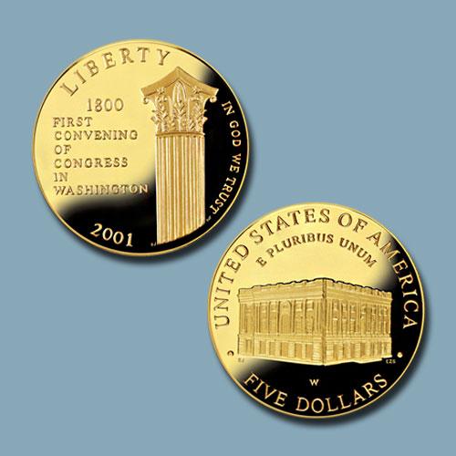 Capitol-Visitor-Centre-Commemorative-Gold-Five-Dollar-Coin