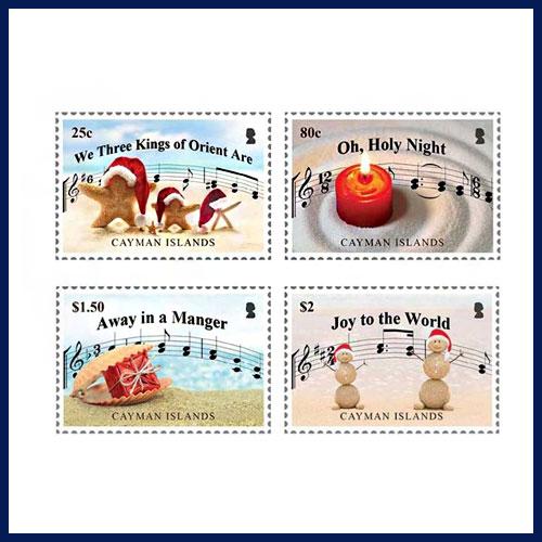 Cayman-Island's-Christmas-Carol-Stamps-2018