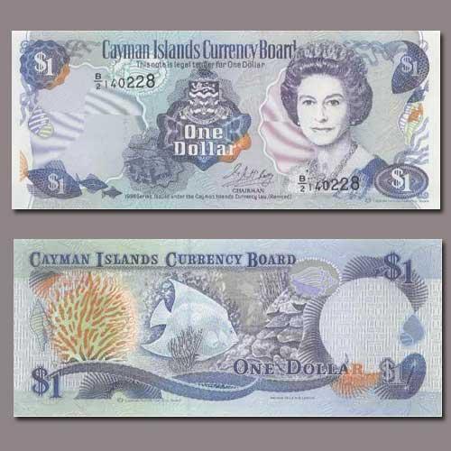 Cayman-Islands-1-Dollar-banknote-of-1996