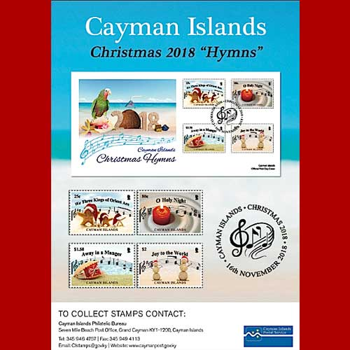 Cayman-Islands-Popular-Carol-stamp