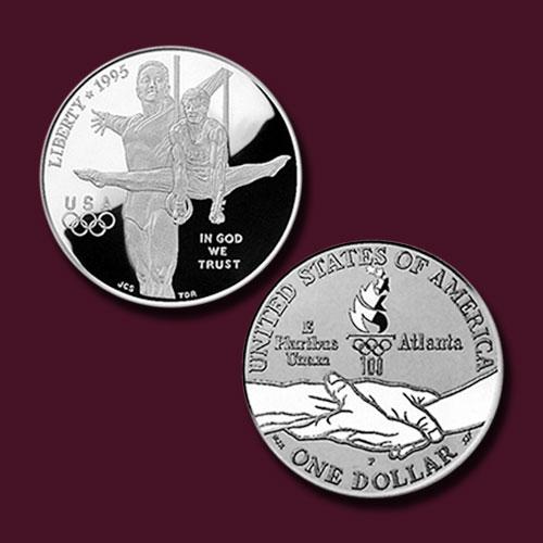 Centennial-Olympics-Gymnastics-Silver-Dollar