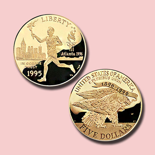 Centennial-Olympics-Torch-Runner-Gold-5-Dollar